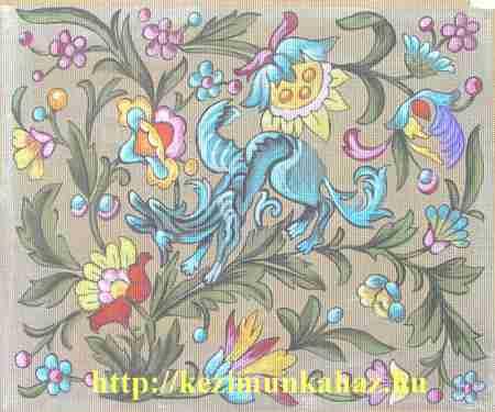 Fantázia virágok - előfestett gobelin
