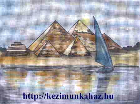 Piramisok - előfestett gobelin