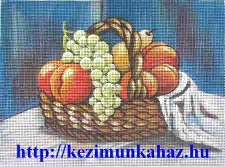 Gyümölcsös csendélet - előfestett gobelin