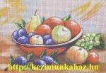Gyümölcsös csendélet 2 - előfestett gobelin
