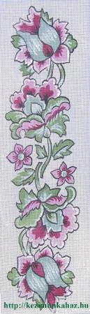 Futó virág - előfestett gobelin