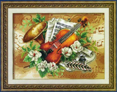 Ludwig van Beethoven - leszámolható keresztszemes készlet