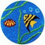 Hal és kagyló - subaszőnyeg készlet