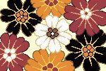 Virágok - nagy subaszőnyeg készlet