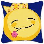 Smiley király - subapárna készlet